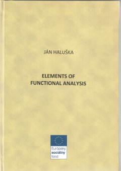 Elements of Functional Analysis (obálka)