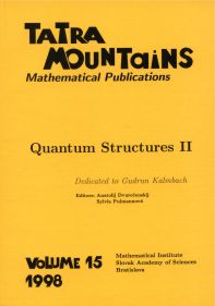 Tatra Mountains Mathematical Publications